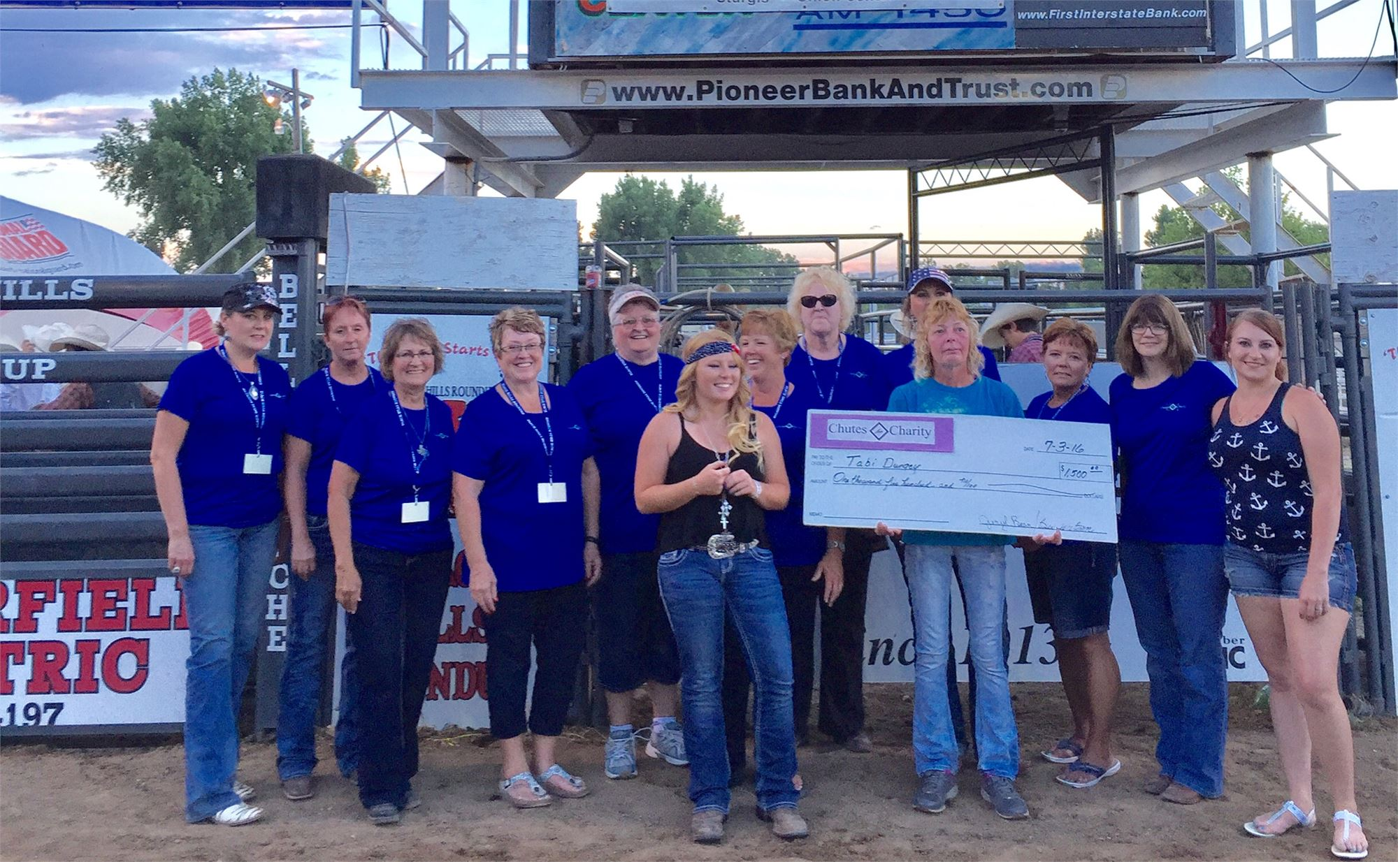 Chutes for Charity Night - July 2nd PRCA Rodeo Performance