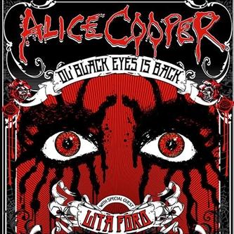 Alice Cooper Spring Tour Postponed