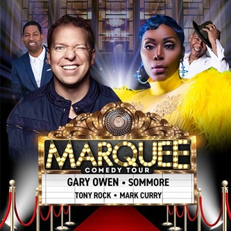 """Comedians Gary Owen, Sommore, Tony Rock & Mark Curry Bring """"Marquee Comedy Tour"""" to Grand Rapids"""