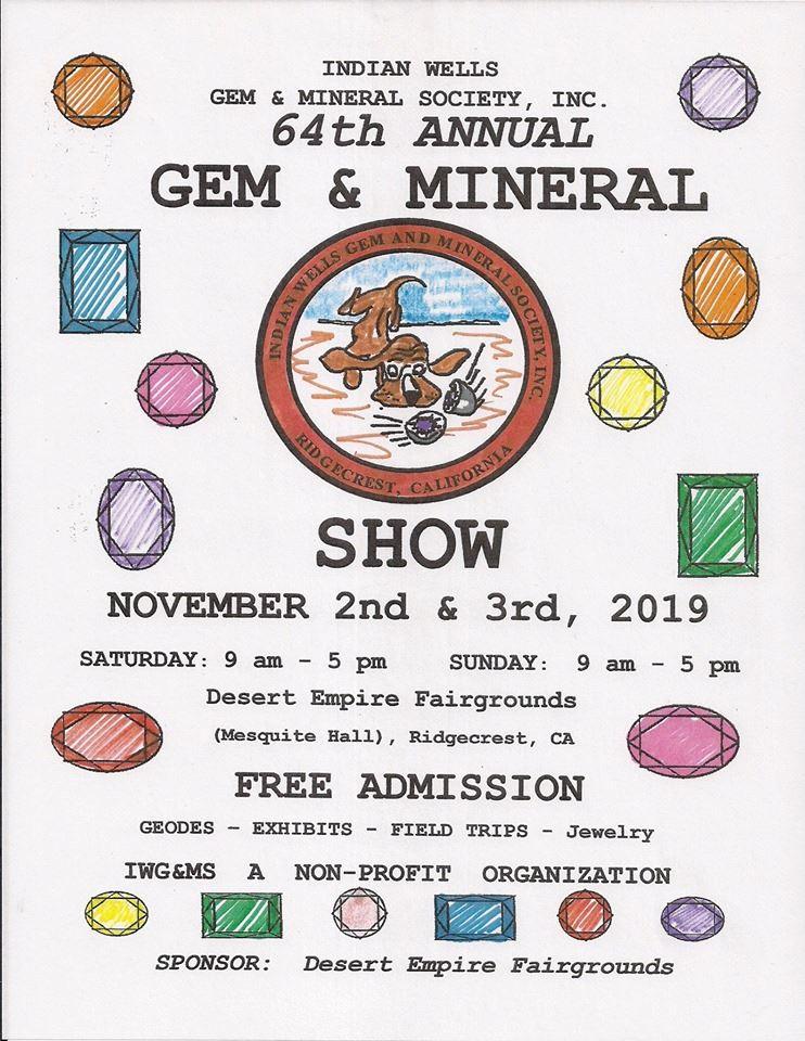 Nov. 2 & 3: Gem & Mineral Show