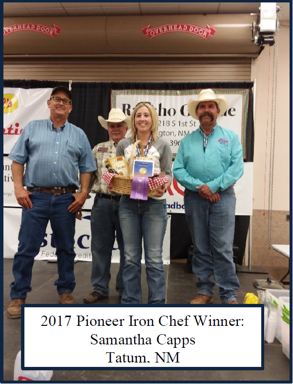 Pioneer Iron Chef Cook Off