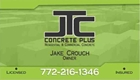 JTC Concrete Plus