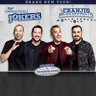 "truTV's Impractical Jokers ""The Cranjis McBasketball World Comedy Tour"" Starring The Tenderloins"